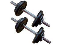 FXR Sports Iron Dumbbell Bars