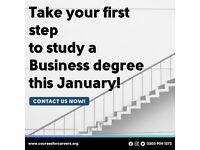 BA (Hons) Business & Marketing - Starting January 2022