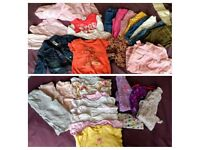 6-12 months bundle of clothes girls