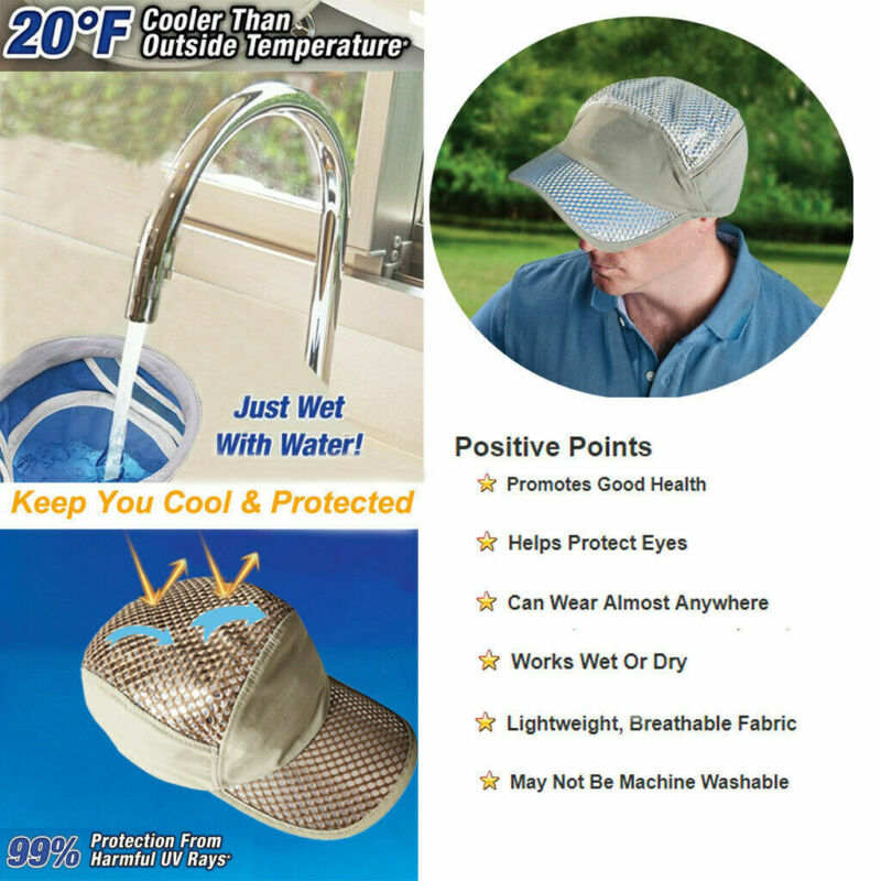 Anti-UV Sunstroke-Prevented Cooling Hat - 80%OFFFree shipping!