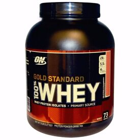 Optimum Nutrition Gold Standard 100% Whey Protein 2.27kg Extreme Milk Choc. **RRP £49.99** LONG DATE