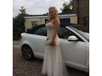 PROM, WEDDING OR BRIDESMAID DRESS, size 12, excellent , stunning condition. BARGAIN!!!