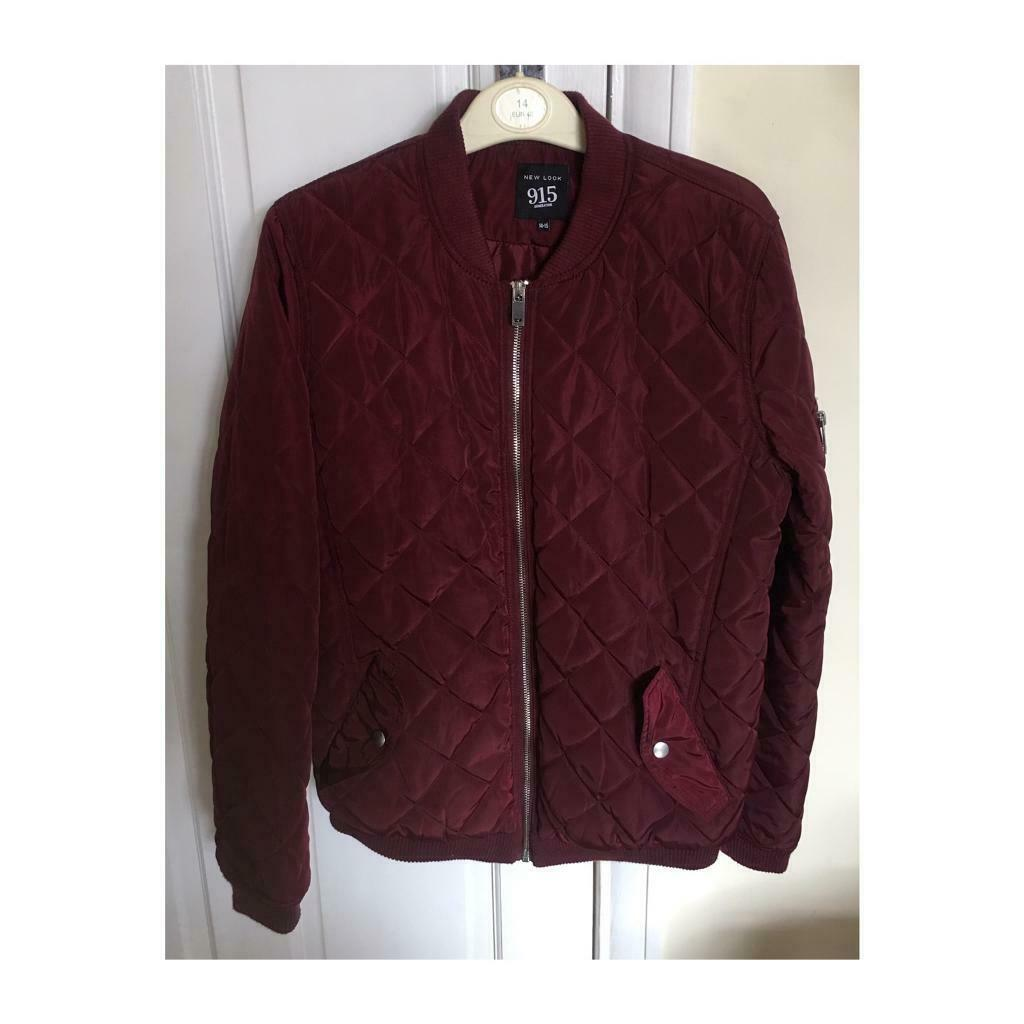 0a464d11 New Look 915 burgundy bomber jacket. | in Newark, Nottinghamshire ...