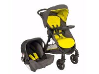 New Graco Fast Action 2.0 Travel System RRP 149.99