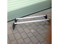 2 AS NEW ROOF BARS FOR VW TIGUAN 2015