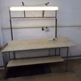 Industrial work bench