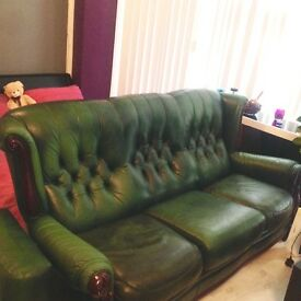 Beautiful green sofa