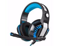 Bovon Gaming Headset Headphones Stereo Noise Cancelling Over-Ear With Microphone