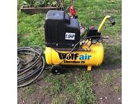Wolf Air compressor 25l