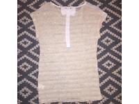 Size 8 vintage knitted top