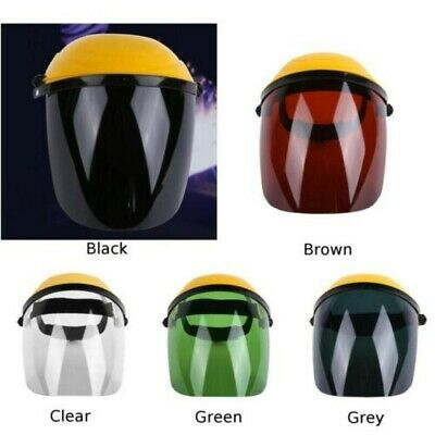 Full-face Safety Shield Tool Clear Glasses Painting Eye Protection Grinding
