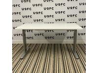 Adjustable Beam Desk in White