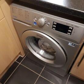 Indesit BWE91484XSUK_SI Washing Machine in Silver
