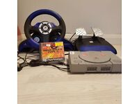 Playstation 1 with game(urgent)
