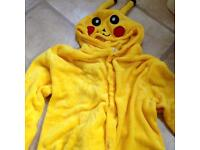 Adult Pikachu Onesie and Slippers
