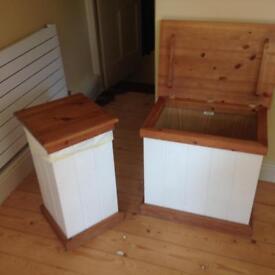 Linen box and bin