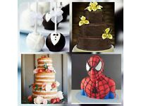 Cakes For Special Occasions Incl; Birthday Cakes, Asian Wedding Cakes, Spider Man Cake, Cake pops