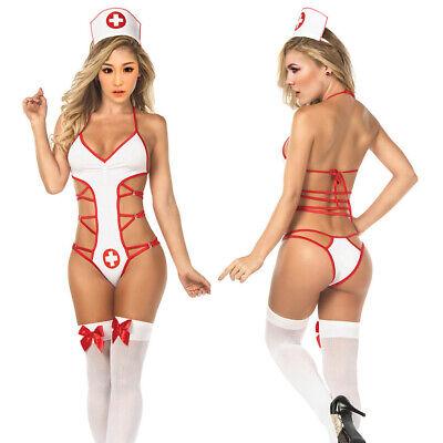 Donne Infermiere medico sexy biancheria del costume di Halloween vestito ()