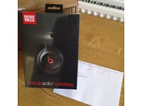 Brand new unopened Beats solo2 wireless bluetooth headphones