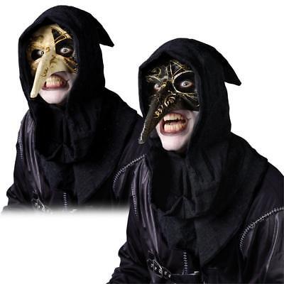 Halbschuhe Masquarade Rabe Maske Ebenholz und Elfenbein Halloween Kostüm-zubehör