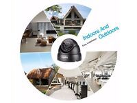 SANNCE Dome 720P IR Cut 24 LED for Security Surveillance CCTV Camera TVI System