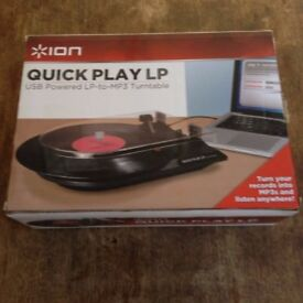 ION Quick Play LP Record to MP3 Converter