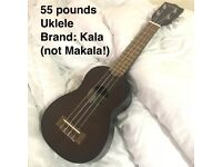 Kala Soprano Ukulele (used for half a year, looks pretty new)