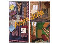 Pakistani Indian Asian Designer clothes Unstitched suits