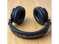 Audio Technica ATH M50X headphones, like Beats