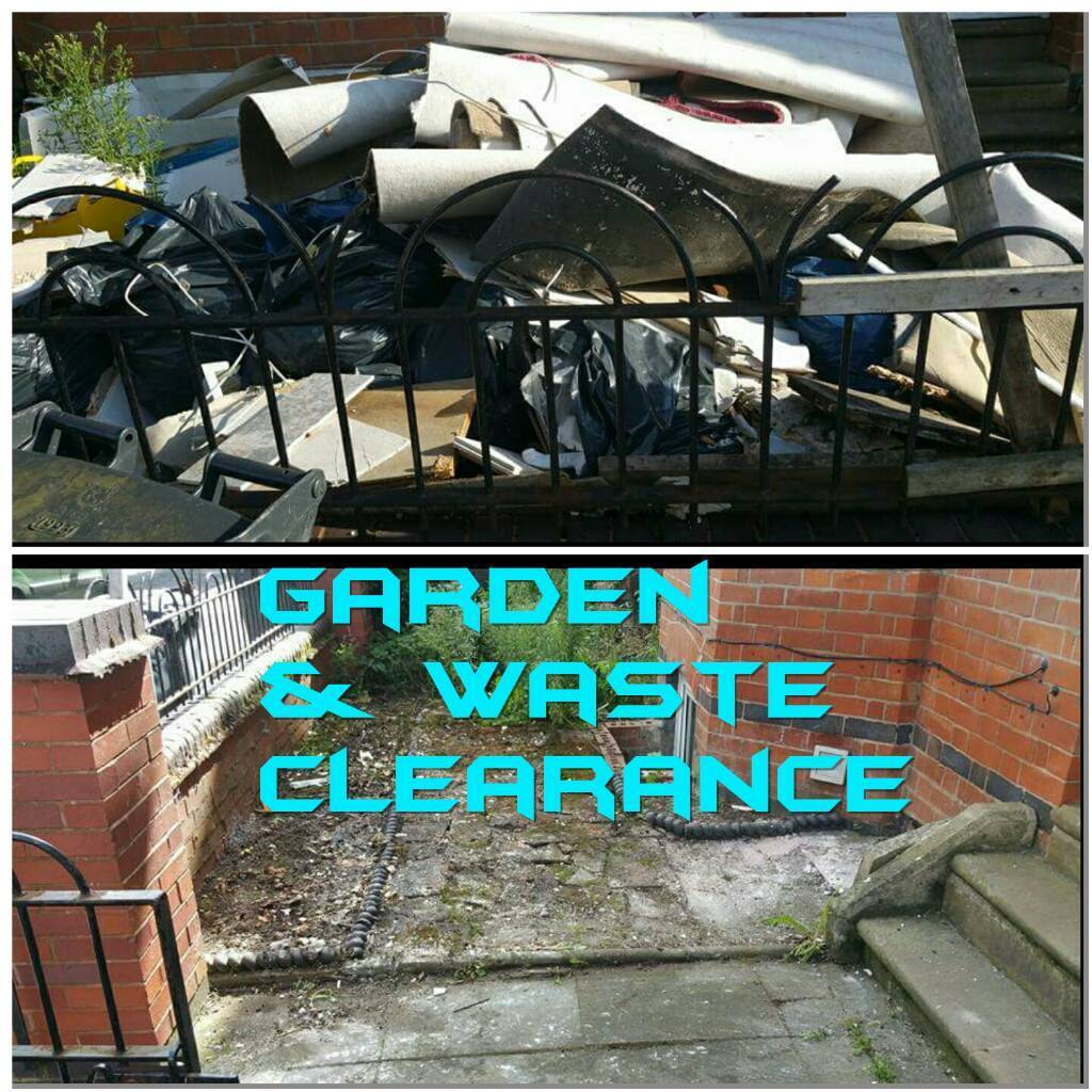 Garden waste green waste removal clearance white goods wood tiles ...
