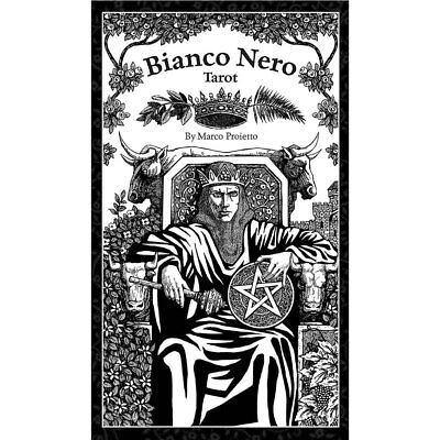 NEW Bianco Nero (Black and White) Tarot (2018) Deck 78 Cards w/ Booklet  Black And White Cards