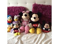 Mickey mouse clubhouse, Disney princess, teletubbies and peppa teddies for sale