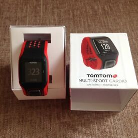 TomTom multi sports watch with built in heart monitor