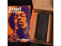 Jimi Hendrix Custom Dunlop Crybaby Wah Pedal