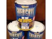 20kg evercryl instant roof repair / fibre reinforced waterproofing / cromapol / free Delivery