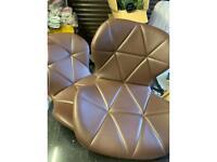 Spares or Repairs Brown Stool Seats