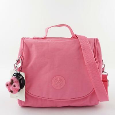 KIPLING KICHIROU Insulated Lunch Bag Crossbody Bag Cool Pink