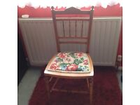 Edwardian bedroom chair
