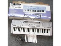 Electronic Music Keyboard MK-4100A (with Box & Power Lead)