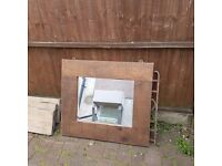 Solid mirror £20