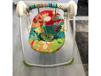 Bright Starts portable baby swing