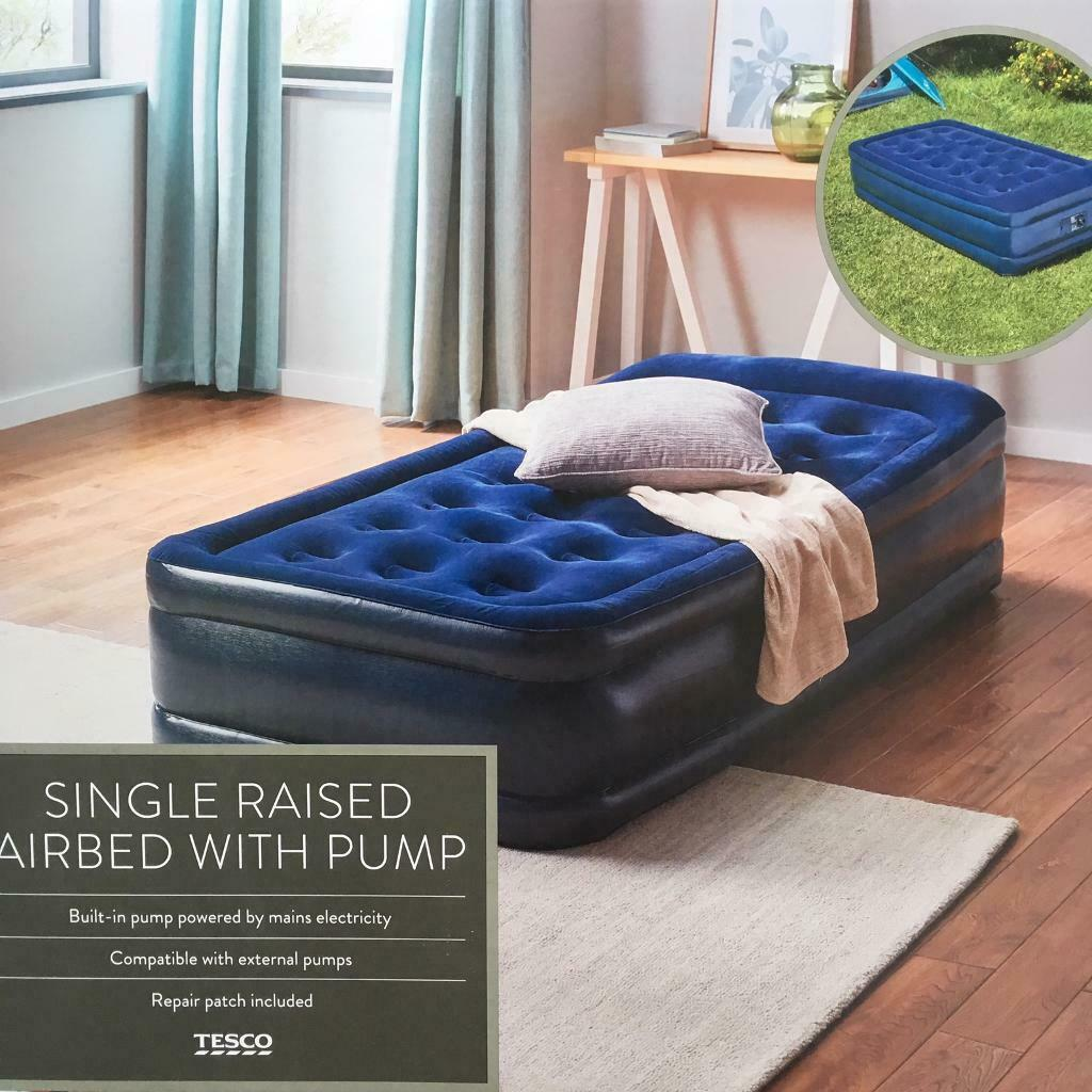 Picture of: Single Raised Air Bed With Pump Used Only Twice In Jewellery Quarter West Midlands Gumtree
