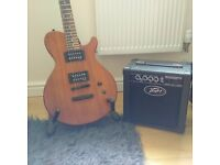 FOR SALE!! A Dean EVO XM Electric Guitar!! Peavey Amplifier & Guitar Stand!!
