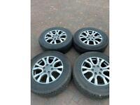 Ford ranger wheels 5miles on them