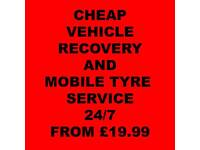 24HOUR VEHICLE RECOVERY TRUCK CHEAP TOWING LONDON ROADSIDE ASSISTANCE MOBILE TYRE SERVICES CALL US