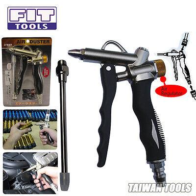 FIT 2 way Air Adjustable / Adjuster Duster Blow Gun / Sprayer US