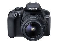 BRAND NEW STILL SEALED CANON EOS 1300d DSLR with Lens.