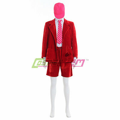 Band AC/DC School Boy Angus Young cosplay Costume Fancy Dress Party Outfit  (Angus Halloween Costume)