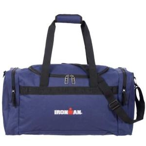 IRONMAN Unisex Travel Size Sport Duffel Gym Bag - 24 Inch (Navy)