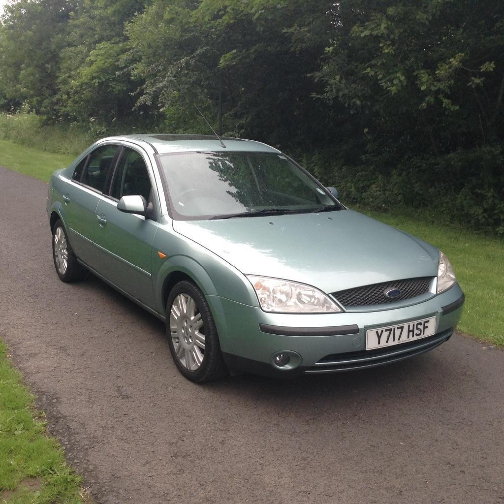 2001 ford mondeo ghia x 4 door fsh with 2 keys 13 stamps in the book mot 20th april 2016 in. Black Bedroom Furniture Sets. Home Design Ideas
